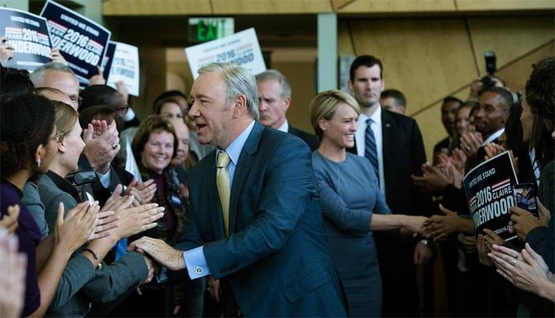 House of Cards seizoen 5 campagne Netflix