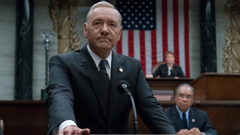 Frank Underwood Kevin Spacey House of Cards