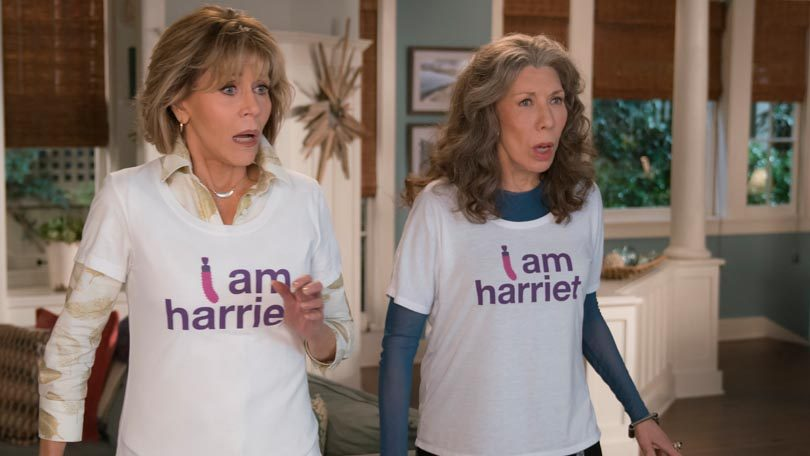 Jane Fonda Lily Tomlin Grace and Frankie Netflix