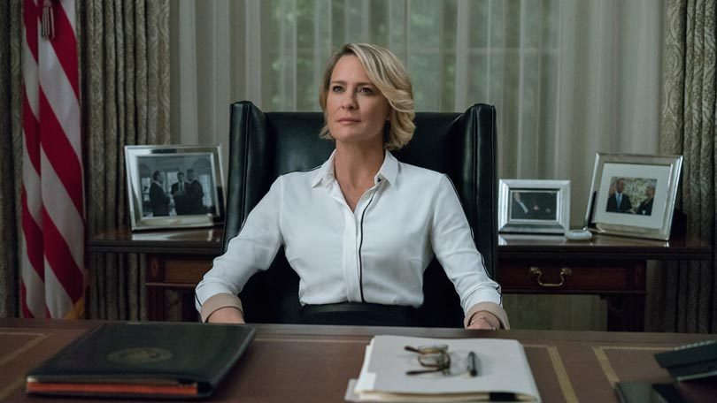Claire Underwood House of Cards Netflix