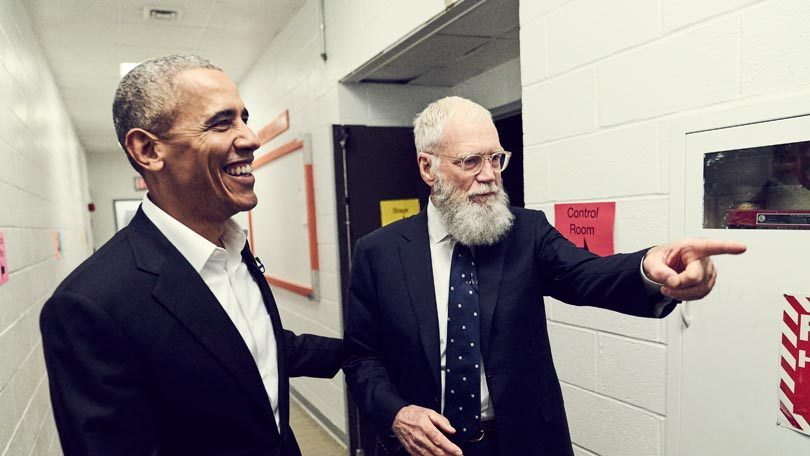 Barrack Obama David Letterman Netflix