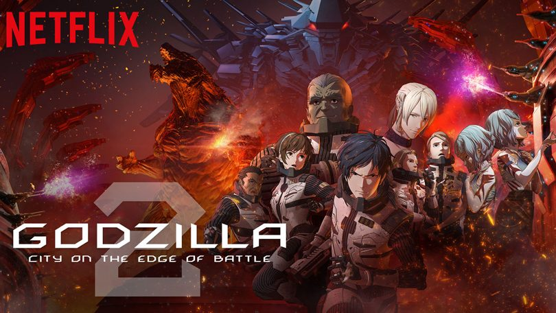Godzilla City on the Edge of Battle Netflix