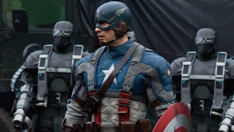 Captain America The First America Netflix