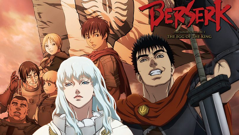 Berserk The Golden Age Arc I The Egg of the King Netflix