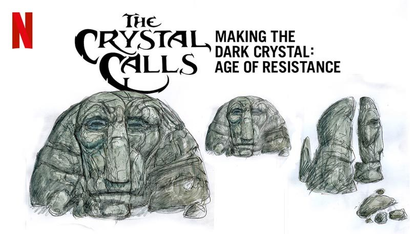 The Crystal Calls Making the Dark Crystal Age of Resistance Netflix