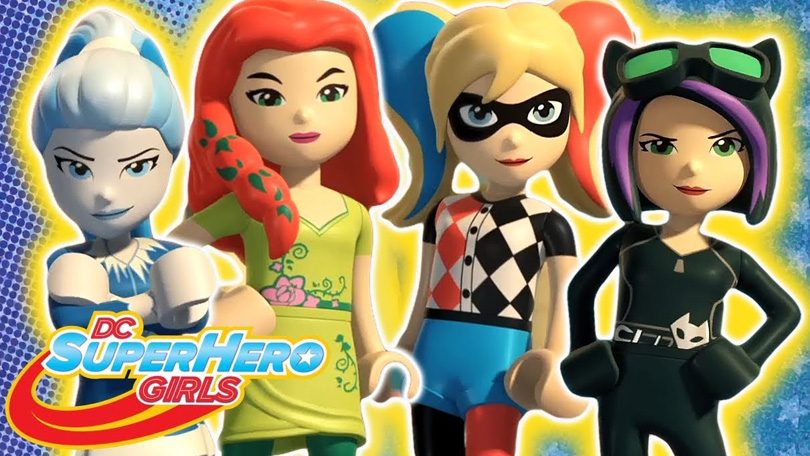 LEGO DC Super Girls Super Villain High Netflix