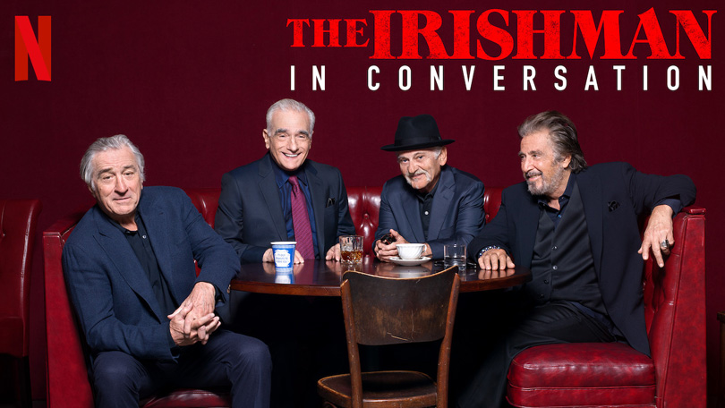 The Irishman in Conversation Netflix