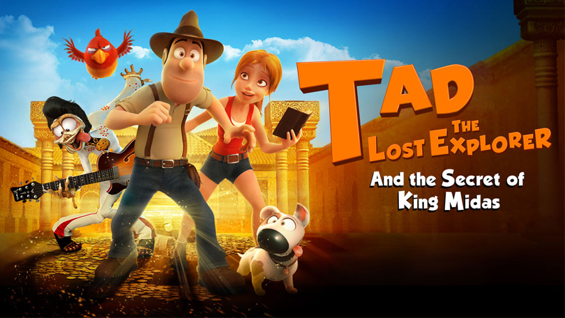 Tad The Lost Explorer and the Secret of King Midas Netflix