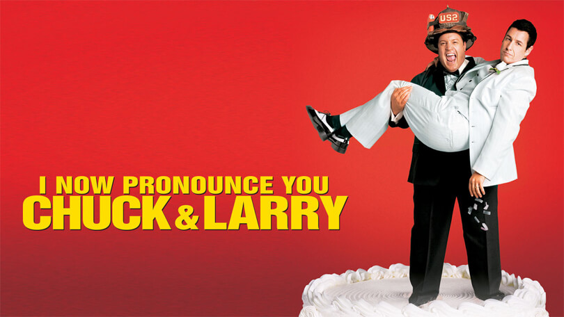 I Now Pronounce You Chuck & Larry Netflix