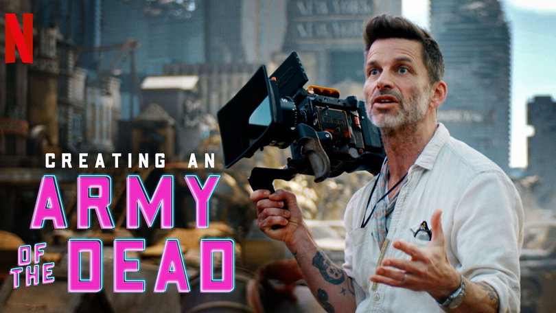 Creating an Army of the Dead Netflix